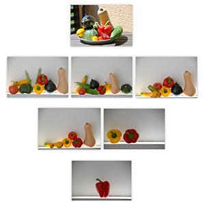夏野菜たちの饗宴