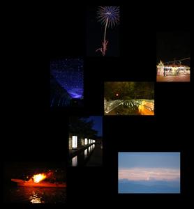 夏の夜の思い出
